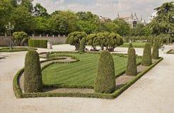 Парк Retiro в Мадриде, Испании стоковое изображение rf