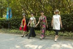 Парк ` s людей в Шанхае, Китае Стоковое Фото