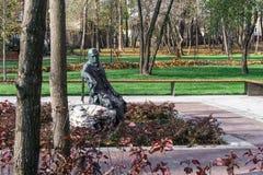Парк ` s писателя Irpin Украина Стоковые Фото