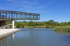 Парк Salburua, Vitoria-Gasteiz Испания Стоковая Фотография RF