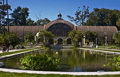 парк san diego бальбоа arboretum Стоковые Изображения RF