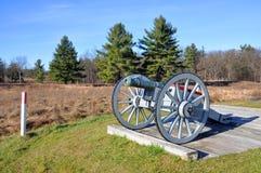 Парк Saratoga национальный исторический, Нью-Йорк, США Стоковое фото RF