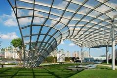 парк shanghai lujiazui Стоковое Изображение RF