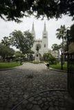 парк simon bolivar стоковое изображение rf