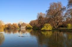 Парк St James Стоковая Фотография