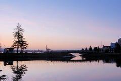 парк stanley рассвета Стоковые Фото