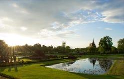 Парк Sukhothai исторический, Таиланд Стоковые Изображения RF