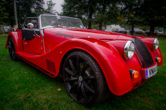 Парк Syon, выставка автомобиля Ferarri спорт Prive салона Лондона супер, Zonda, BMW, изогнуто, Bugatti, Lister, лотос, альфа стоковая фотография rf