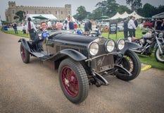 Парк Syon, выставка автомобиля Ferarri спорт Prive салона Лондона супер, Zonda, BMW, изогнуто, Bugatti, Lister, лотос, альфа стоковое изображение rf