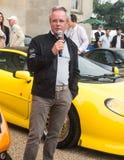 Парк Syon, выставка автомобиля Ferarri спорт Prive салона Лондона супер, Zonda, BMW, изогнуто, Bugatti, Lister, лотос, альфа стоковое фото rf