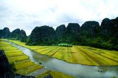 Парк Tam Coc Natioanl стоковое фото