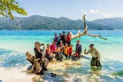 Парк Tarutao национальный морской в Таиланде стоковое фото rf