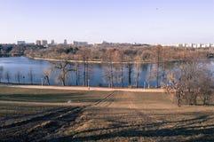 Парк Tineretului, Бухарест, Румыния Стоковые Изображения RF