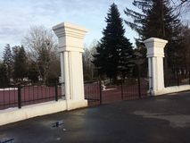 Парк Tineretului входа Стоковое фото RF