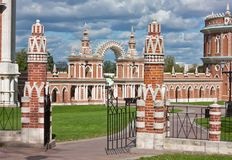 Парк Tsaritsyno, Москва Стоковая Фотография