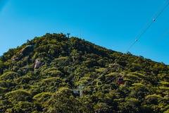 Парк Unipraias в Balneario Camboriu, Санта-Катарина, Бразилии стоковые изображения