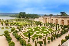 парк versailles ландшафта Франции стоковые фото