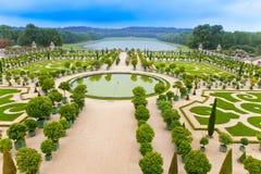 парк versailles Франции стоковое изображение rf