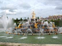 парк versailles Стоковое фото RF