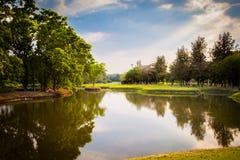 Парк Wachira Benjathat Стоковые Фотографии RF