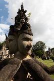 Парк Wat Xieng Khuan Будды Лаос vientiane Стоковое Изображение RF
