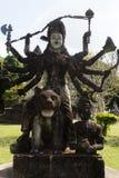 Парк Wat Xieng Khuan Будды Лаос vientiane Стоковое Изображение