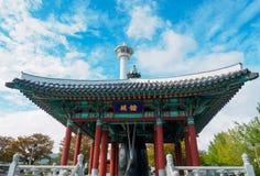 Парк Yongdusan стоковое фото