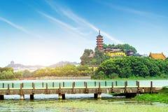 Парк Zhenjiang Jinshan Стоковое Фото