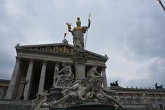 Парламент Австрии в вене стоковое изображение rf