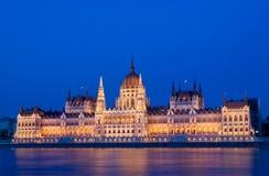 Парламент Будапешт Стоковые Фото