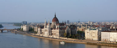 Парламент Будапешт Стоковая Фотография