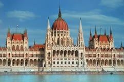 Парламент Будапешт Стоковое Фото