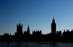Парламент Великобритании стоковые фотографии rf