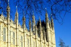 Парламент Великобритании Стоковые Изображения