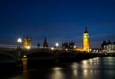 Парламент Великобритании Стоковая Фотография RF