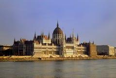 парламент венгра дома Стоковое Изображение