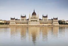 парламент Венгрии здания budapest Стоковое Изображение