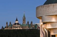 Парламент в сентябре стоковая фотография rf