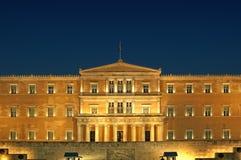парламент грека athens стоковое изображение