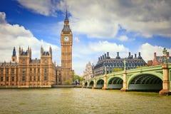 парламент домов ben большой Стоковое Изображение