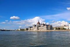 парламент здания budapest Стоковая Фотография