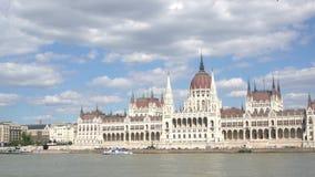 парламент здания budapest сток-видео