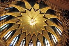 парламент интерьера budapest Стоковое Фото