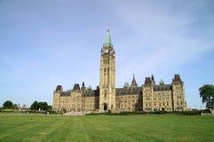 парламент Канады здания исторический Стоковое Изображение RF