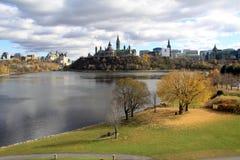 парламент Канады Стоковое Фото