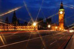 парламент ночи дома ben большой Стоковые Фотографии RF