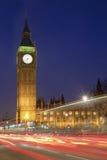парламент ночи london домов ben большой Стоковые Изображения RF