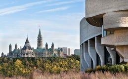 парламент осени стоковое изображение rf