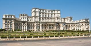 парламент Румыния дворца bucharest стоковые изображения rf