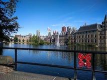 Парламент Binnenhof голландский, вертеп Haag Гааги, Нидерланды Стоковые Изображения RF
